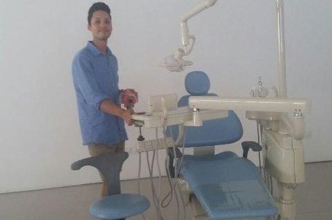 Primer alumno del Grado de Odontología de la Escuela Universitaria Adema.