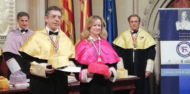 El jefe de Estudios de la Escuela Universitaria de Odontología ADEMA, nombrado académico numerario de la prestigiosa Pierre Fauchard Academy