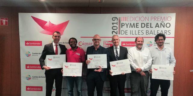 La Escuela Universitaria de Odontología ADEMA, premio mejor empresa socialmente responsable de Baleares 2019, en la III Premio Pyme del Año de la Cámara de Comercio de Mallorca