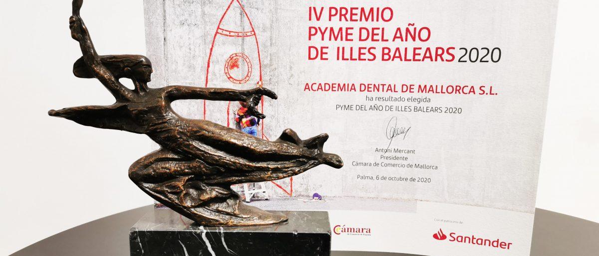 Enlace permanente a:La Escuela Universitaria Adema, Pyme del año 2020 de Baleares