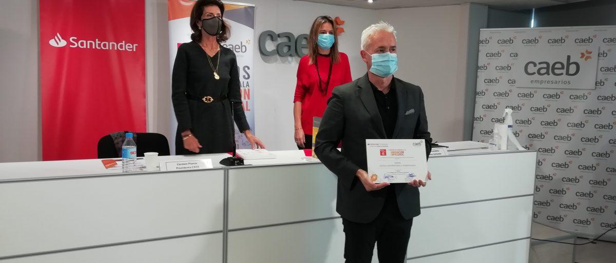 Enlace permanente a:La Escuela Universitaria Adema, finalista de la IV edición de Premios CAEB-Santander a la Innovación Empresarial para Pymes