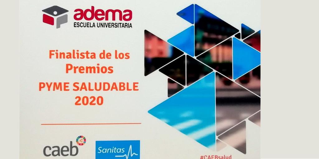 """Enlace permanente a:La Escuela Universitaria ADEMA, finalista Premio CAEB Sanitas """"Empresa Saludable"""" de Baleares"""