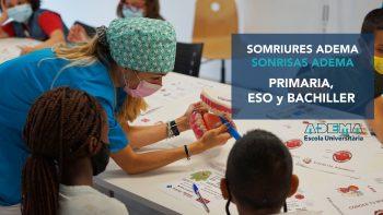 Enlace permanente a:Programa «Sonrisas ADEMA» para alumnado de Primaria, ESO y Bachiller de toda Mallorca